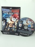 WWE SmackDown vs Raw 2011 PS2 PlayStation 2 PAL Game  Rare Wrestling Disk Only