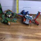 Transformers Parts Pieces lot - Optimus & Bulkhead