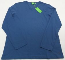 NWT $95 Hugo Boss Men's Blue Modern Fit LS Shirt C-Vino 50320789 498 2XL