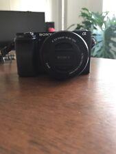 Sony Alpha a6000 24.3MP Digital Camera - Black (Kit w/ E PZ OSS 16-50mm Lens)...