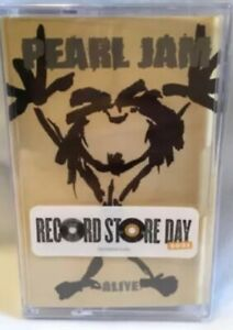Pearl Jam - Alive  Cassette Tape Record Store Day 2021 RSD