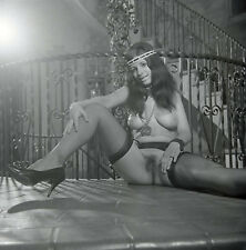 Vint Original  Nude Joyce Gibson Posing #12   2.25 negative  William Rustler Neg