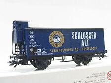Märklin H0 ged. Güterwagen Schlösser Alt Düsseldorf OVP (Q2235)