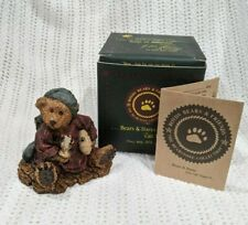 "Boyds Bears ""Neville.The Bedtime Bear"" #2002 Retired 1993 Nighttime Pillow Nib"