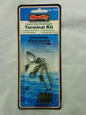 1153 Scotty Heavy Duty Downrigger Cable Terminal Kit Coastlock Snap 490