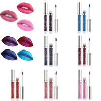 7 Colors Waterproof Glitter Matte Liquid Lipstick Long Lasting Lip Gloss Makeup