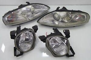 JDM Toyota Soarer Lexus SC300 SC400 JZZ30 Headlights Head Lights Lamps OEM 1Set