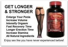 Penis Enhancer Enlargement Enhancement Pills Better Sex Drive Orgasm Volume 3x