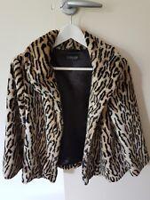 515e8954f09 Topshop Leopard Faux Fur Coat