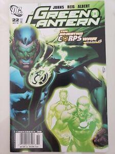GREEN LANTERN #22 (2007) DC COMICS THE SINESTRO CORPS WAR Part 4 1ST PRINT!