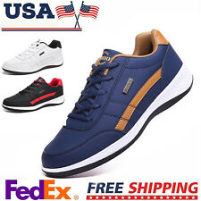 Men's Fashion Casual Shoes Sports Outdoor Waterproof Tennis Running Sneakers Gym