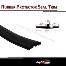 "120"" Rubber Seal Edge Trim Auto Front Rear Windshield Sunroof Molding Strip"