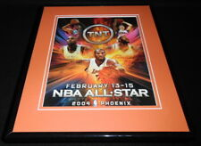 2009 NBA All Star Game 11x14 Framed ORIGINAL Advertisement Lebron James