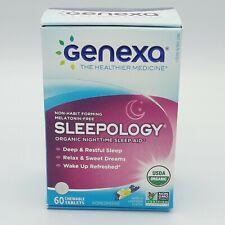 Genexa Sleepology Homeopathic Sleep Aid Tablets, 60 Ct