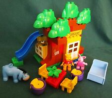 LEGO DUPLO 5947 WINNIE THE POOH'S HOUSE BUILDING SET - COMPLETE W/3 FIGS - 2011