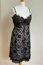 Black lace cocktail dress star by julien macdonald size 18