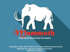 Stretched Canvas Kit DIY 2000x1200mm Stretcher bar 38x32mm Canvas made in Aust