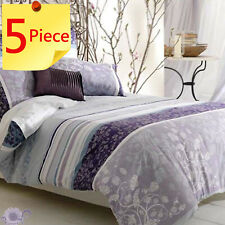 Ashley Duvet Doona Quilt Cover Set by Bianca | 250Tc | Percale | 5 Piece | King