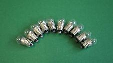 10 Taschenlampenbirnen Birnen Zwergbirnen 3,5V 0,26A DDR E10 Glühbirnen