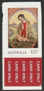 AUSTRALIA 2018 CHRISTMAS 65c SELF ADHESIVE STAMP MNH