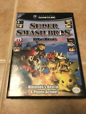 Super Smash Bros. Melee -Gamecube- Replacement Case *NO GAME* Original