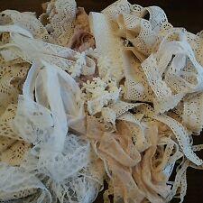 Vintage mix lace        Bundles Cotton / Broderie Anglaise / Nylon 30mts  £6.50