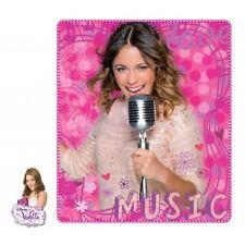 Manta Polar Violetta Disney Music Rosa / Fleece Blanket Pink
