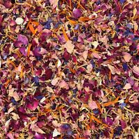 Natural Biodegradable Petal Wedding Confetti Burgundy Pink Red Rose Ivory 1L