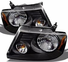 FOREST RIVER GEORGETOWN 2006 2007 2008 2009 BLACK HEADLIGHTS HEAD LIGHTS RV PAIR