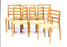 JL Moller #85 Chairs (Set of 6) NEW