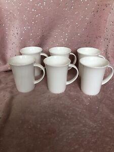 Maxwell & Williams 'Cashmere' White Fine Bone China Large Tea/Coffee Mugs X 6