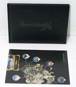 Xenoblade Chronicles X Art Book + Poster Nintendo - Free postage