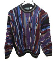 Coogie Like Sweater By Campus Size Large Mens Multicor Vintage Made In The USA