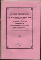 SANSEVERINO-DOCUMENTI INEDITI E NOTIZIE RACCOLTE DAL COMMEN.SERVANZI COLLIO-1877