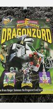 * Vintage MMPR Mighty Morphin Power Rangers Dragonzord & Green Ranger 1993 *