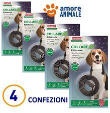 4 CONFEZIONI - Beaphar Protezione Naturale - Collare RIFLETTENTE - per cane cani