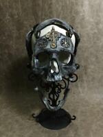 "AMC Prop Repro Preacher ""War Chaplain"" created by Zane Wylie Human Skull Replica"
