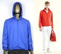 New Authentic Gucci Mens Techno Poly Windbreaker Jacket 347509