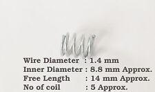 DIAMETRO del Wire 1.4mm x 8.8mm ID x 14mm Lunghezza molla a compressione in acciaio fai da te Strumento