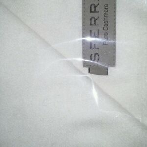 New Sferra Dorsey Cashmere Throw - Ivory or Ice