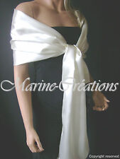 etole en SATIN MARIAGE MARIEE coloris BLANC