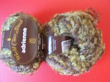 New listing Universal Adrienne textured yarn, mohair blend, Portico, lot of 2 (71 yds each)
