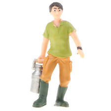 8cm Plastic Miniatures Figures Farm People Stockman Kids Toy - Ranch Boy