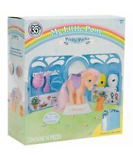New Basic Fun 35th Anniversary My Little Pony Retro Pretty Parlor Playset Peachy