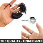 UK Ring Finger Sizer Measure Gauge All British Sizes- Ring Size Reducer Adjuster