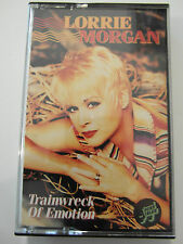 Lorrie Morgan - Train-wreak Of Emotion - Album Cassette Tape, Used Very good