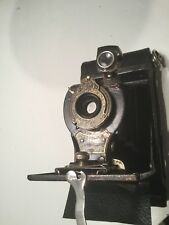 EASTMAN KODAK No.2 FOLDING Autographic BROWNIE Bellows Camera With Case