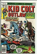 Kid Colt Outlaw #217 - VF/NM 9.0 - Renegades back-up story - Tom Sutton art