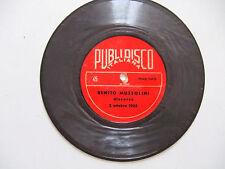 """Benito Mussolini – Discorso 2 Ottobre 1935 - Disco Flexi Vinile 45 Giri 7"""""""