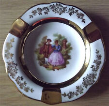 Limoges Castel France Victorian Fine Ashtray
